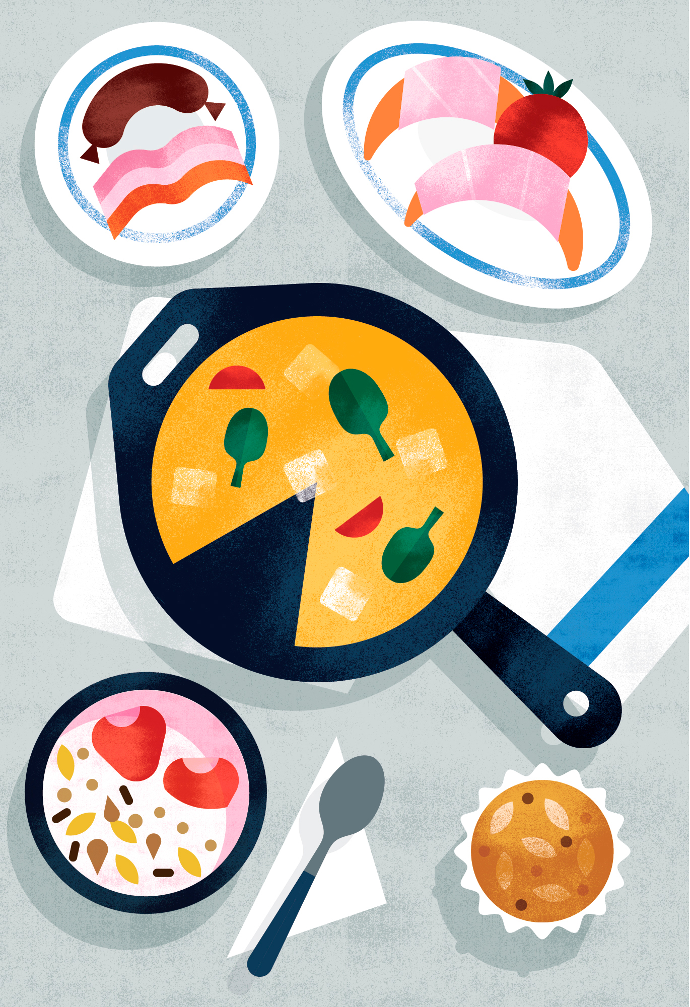 Maya Stepien | Wall Street Journal| Breakfast is Served